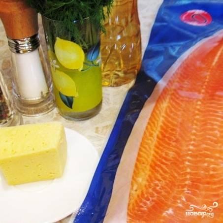 Рулеты из форели с сыром - пошаговый рецепт