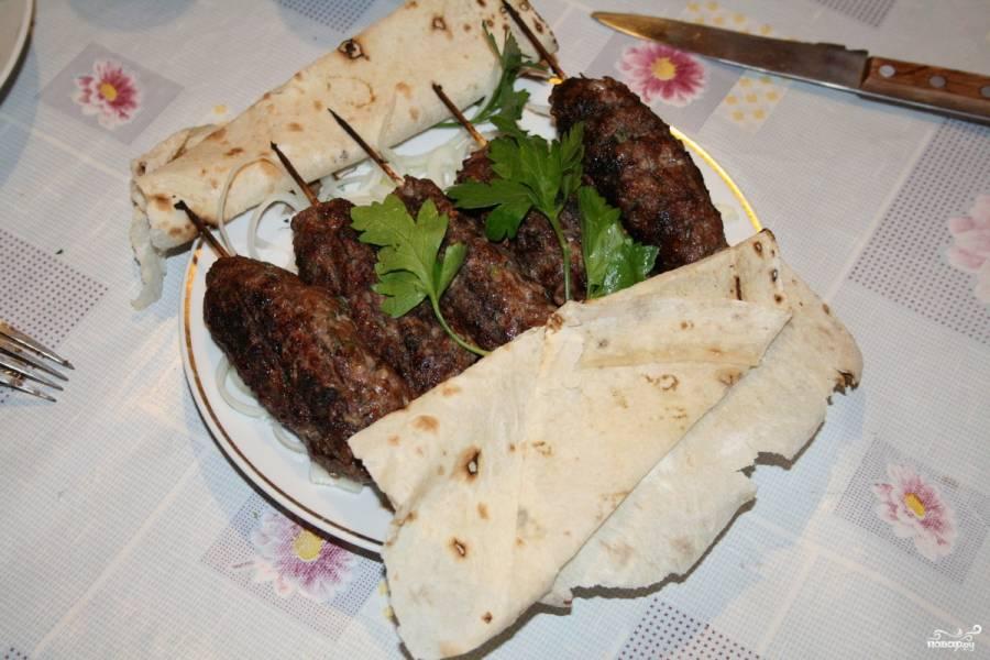 Люля-кебаб по-азербайджански