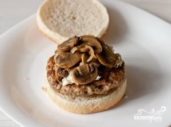 Гамбургер с сыром - пошаговый рецепт