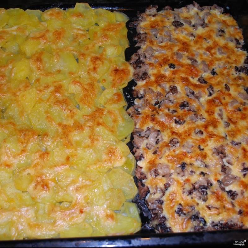 Картошка со сморчками в духовке - пошаговый рецепт с фото на