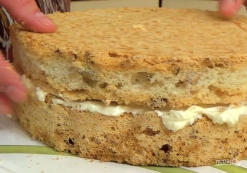 Домашний торт - Киевский - пошаговый рецепт с фото на