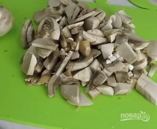 Салат из кальмаров и грибов - пошаговый рецепт с фото на