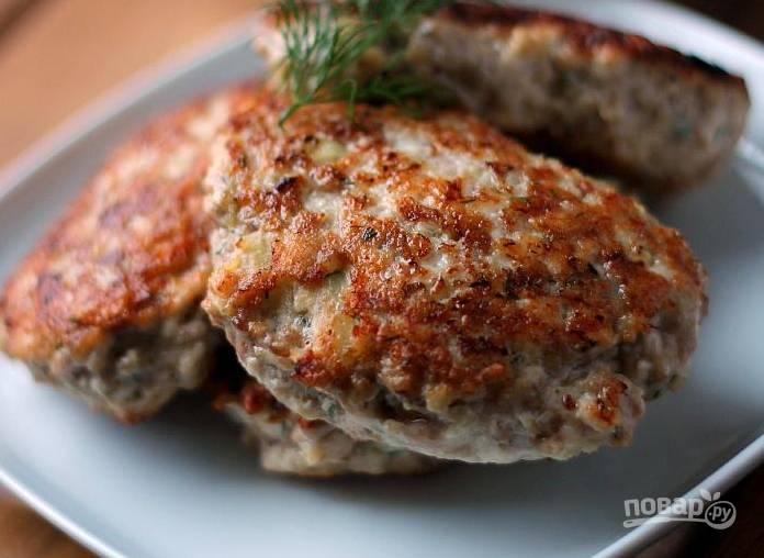Котлеты для гамбургера из говядины рецепт 69