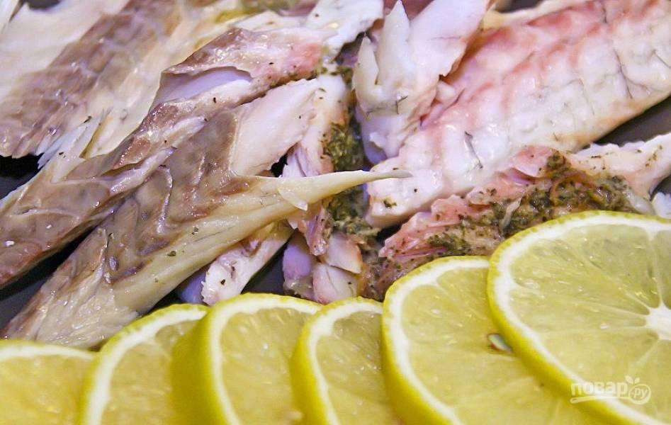 Сибас в соли - пошаговый рецепт с фото на