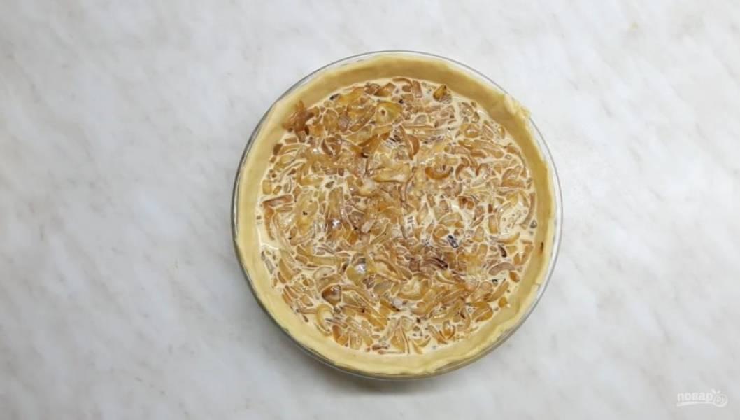 Немецкий луковый пирог - пошаговый рецепт