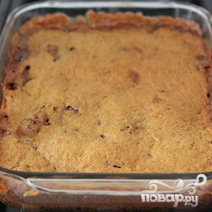 Тыквенные пирожные с карамелью и шоколадом - пошаговый рецепт с фото на
