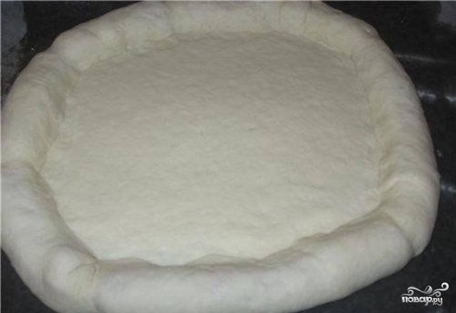 Необычная пицца - пошаговый рецепт