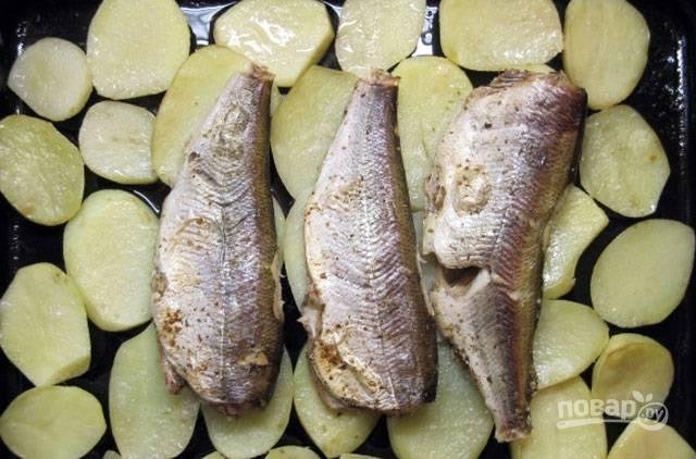 Пелядь (рыба) в духовке - пошаговый рецепт