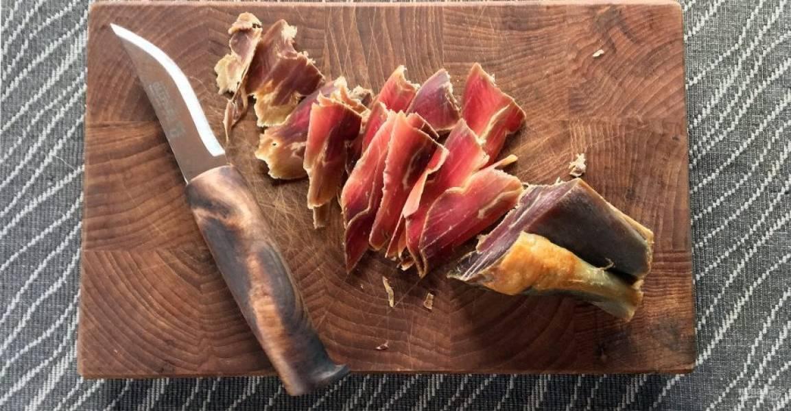 Вяленая баранья нога - пошаговый рецепт