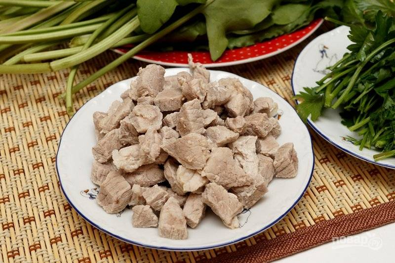 Щи из щавеля со свининой - пошаговый рецепт