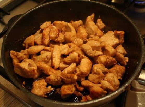 Омлет с куриным филе - пошаговый рецепт