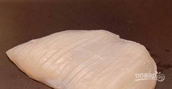 Нигири суши с кальмаром - пошаговый рецепт