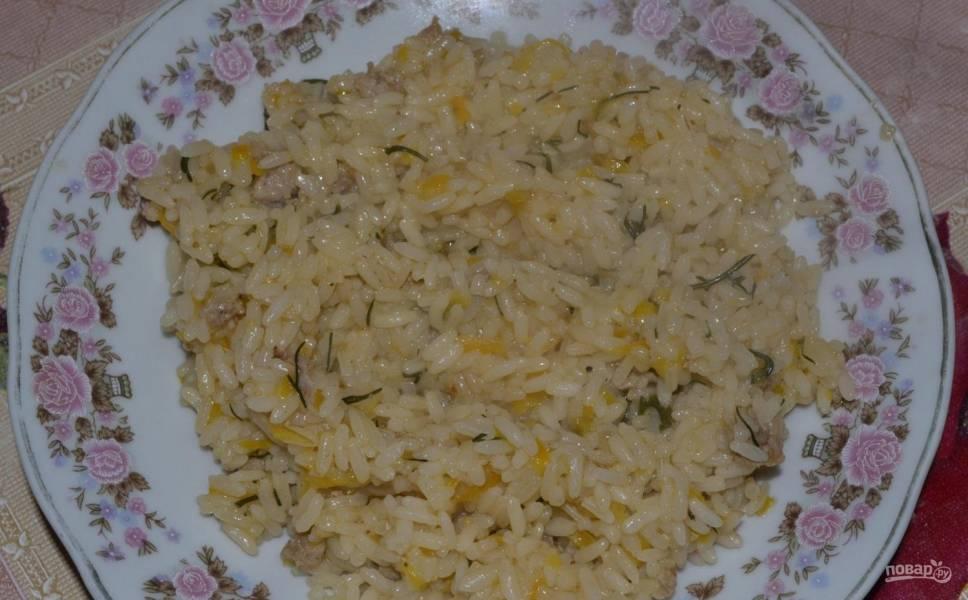 Рисовая каша со свининой