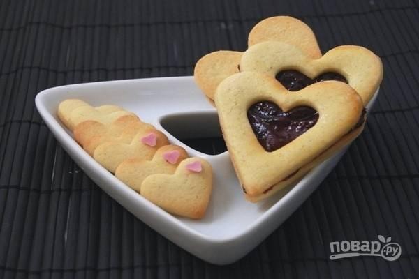 8.Вот и готово печенье ко Дню всех Влюбленных!