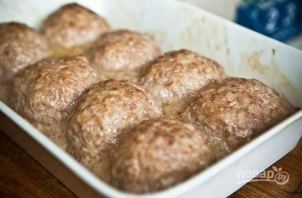 Тефтели в томате - пошаговый рецепт с фото на