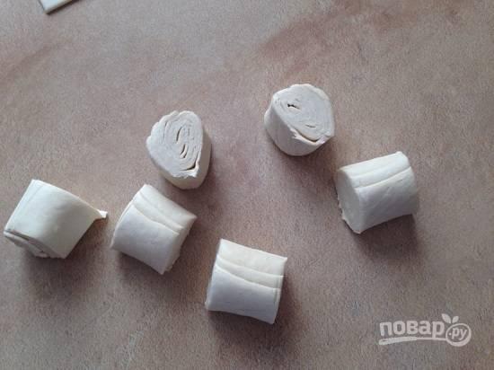 Чебуреки из слоеного теста - пошаговый рецепт с фото на