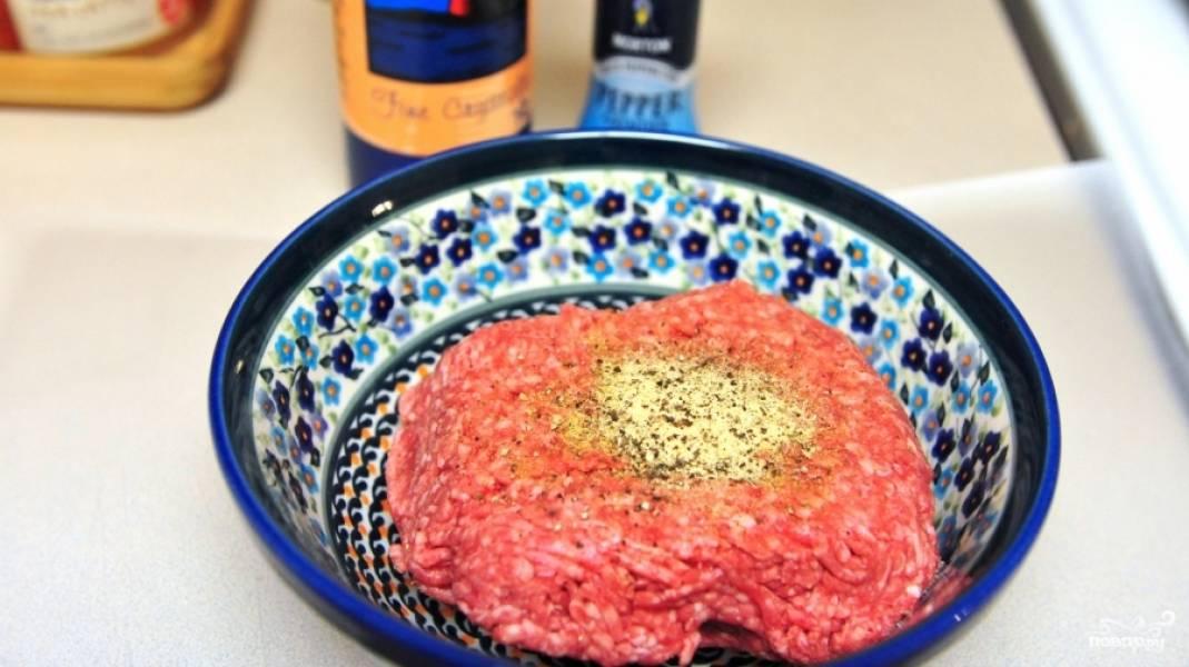 Котлеты для гамбургеров - пошаговый рецепт