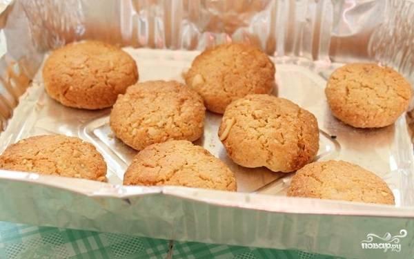Арахисовое печенье - пошаговый рецепт