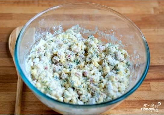Маффины с беконом и сыром - пошаговый рецепт с фото на