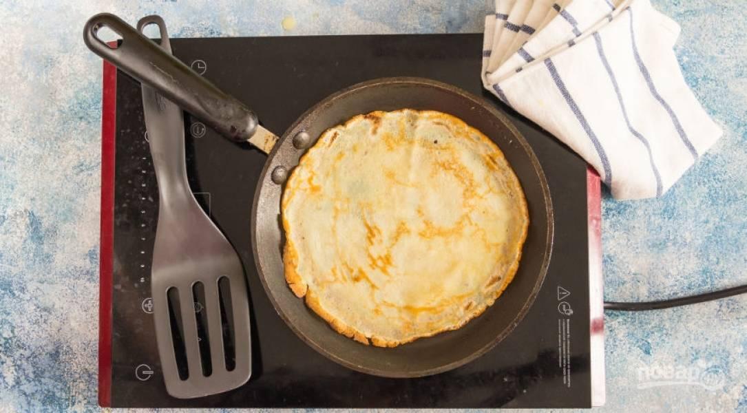 Блинчики тонкие на сковороде (ароматные) - пошаговый рецепт