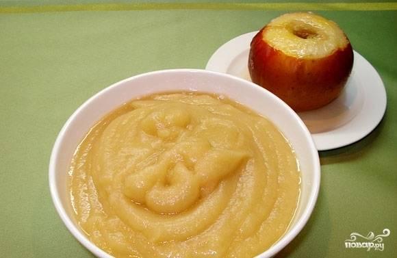 Пюре из яблок в мультиварке