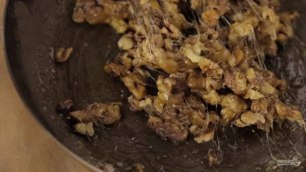 Козинаки с грецкими орехами - пошаговый рецепт