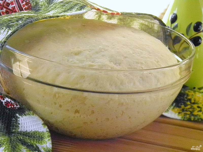 Творожное дрожжевое тесто для булочек
