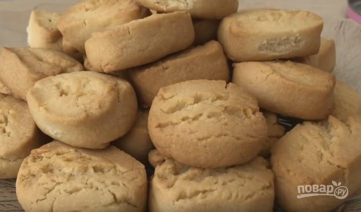 Домашнее печенье рассыпчатое - пошаговый рецепт