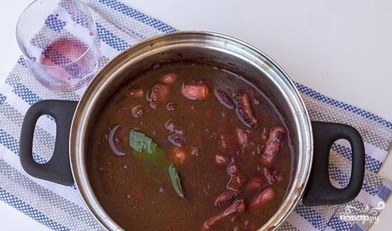Осьминог по-гречески - пошаговый рецепт