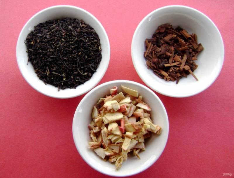 Яблочный чай - пошаговый рецепт с фото на