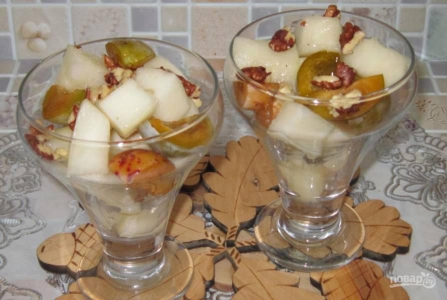 Диетический десерт на скорую руку - пошаговый рецепт