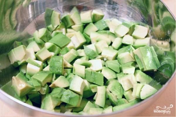 Салат из авокадо с грушей и сыром - пошаговый рецепт с фото на