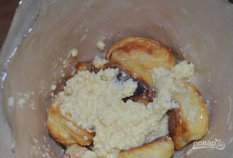 Торт - Крокембуш - из профитролей - пошаговый рецепт
