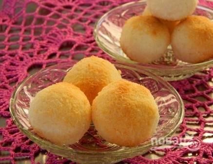Кокосовые шарики - пошаговый рецепт