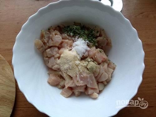 Куриный рулет (замена колбасе) - пошаговый рецепт