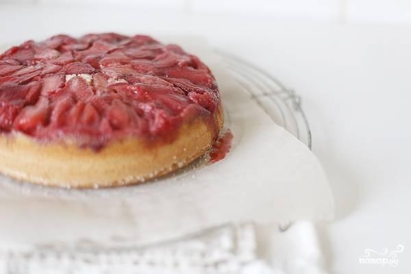 Кекс с земляникой - пошаговый рецепт с фото на
