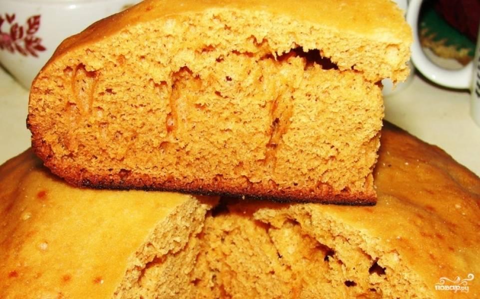 Пирог с медом в мультиварке