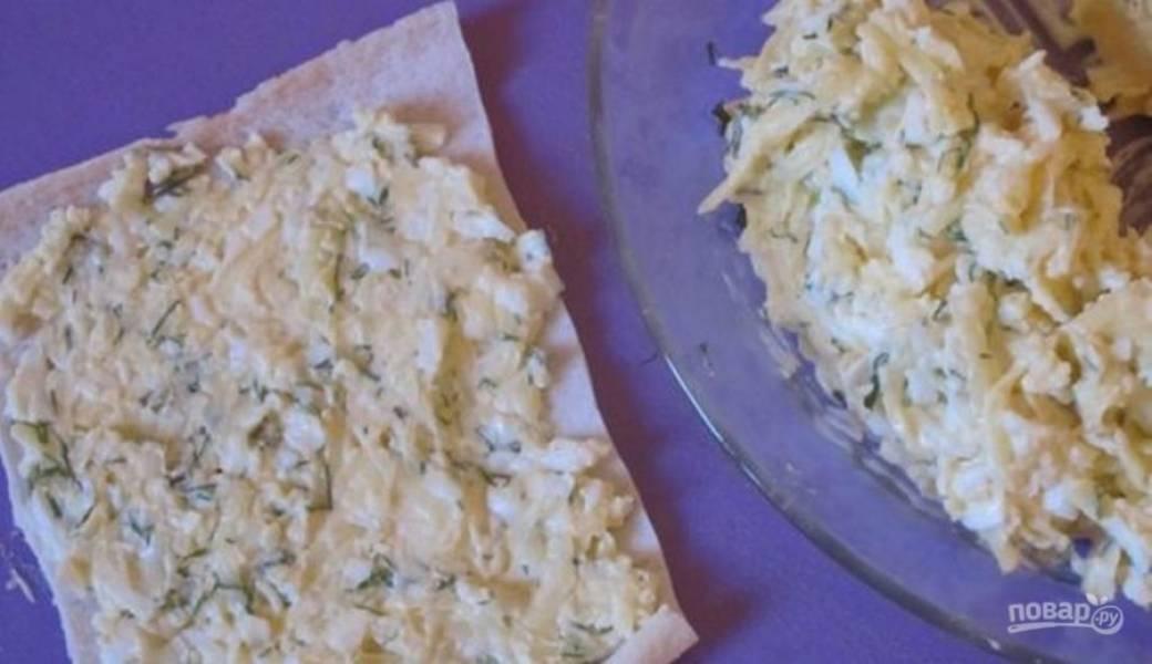 Крабовые палочки с начинкой - пошаговый рецепт с фото на