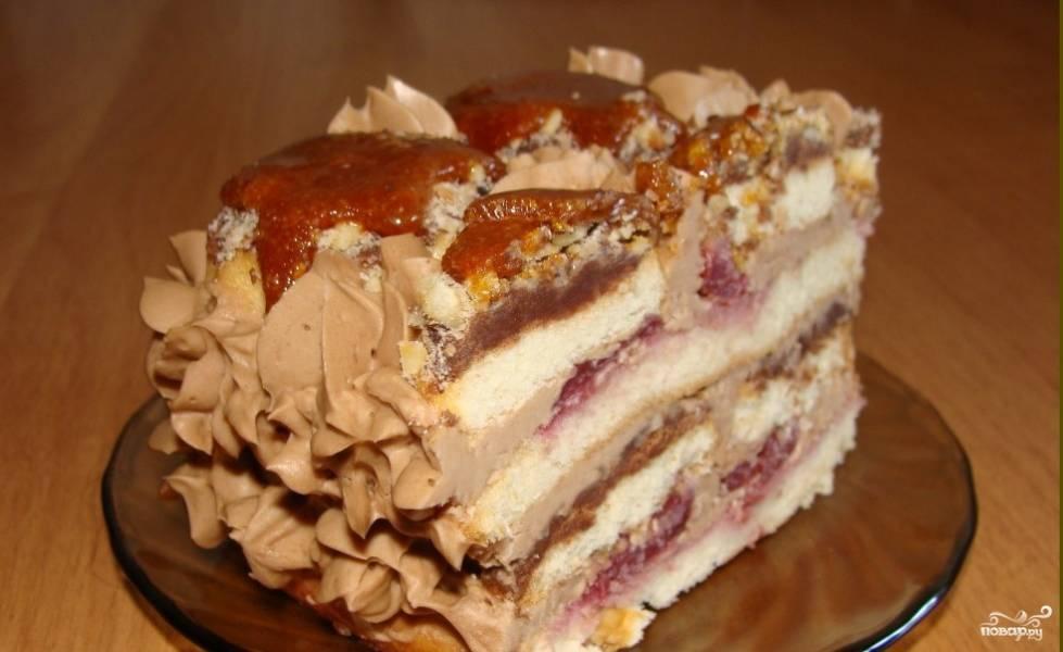 Легкий рецепт торт бисквитный рецепт пошагово 123