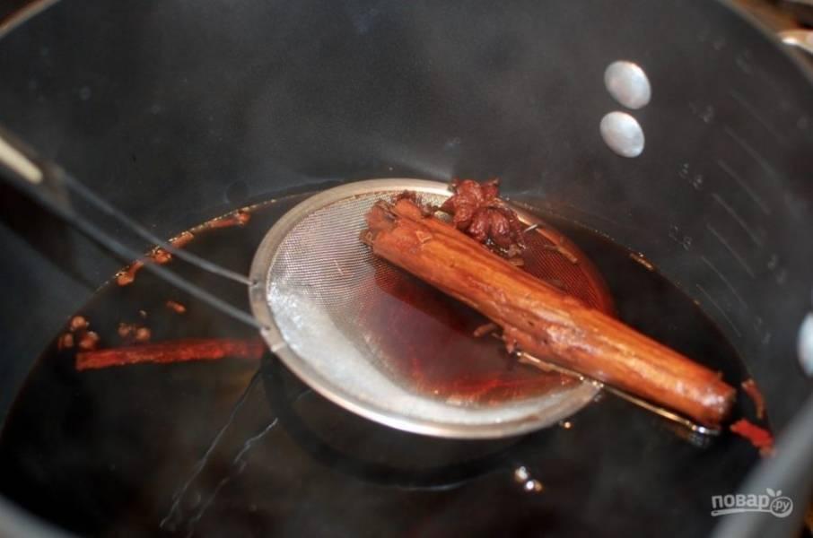 Австрийский глинтвейн - пошаговый рецепт