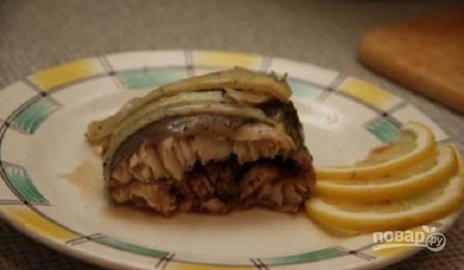 Стерлядь в духовке целиком (простой рецепт)