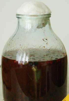 Домашнее вино из варенья - пошаговый рецепт