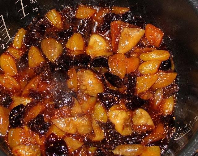 Варенье из сухофруктов в мультиварке - пошаговый рецепт