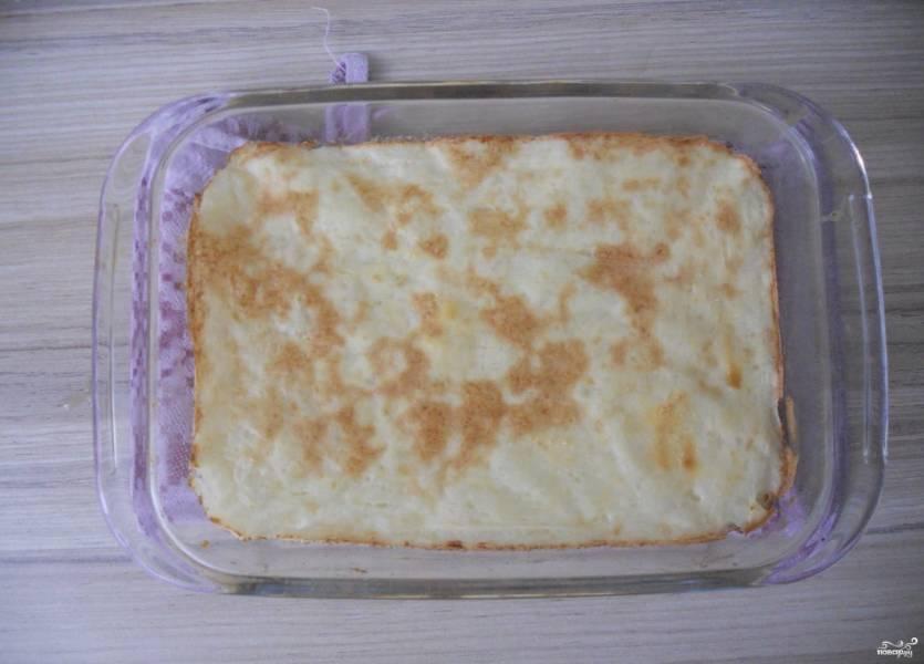 Картофельная запеканка для ребенка с фото