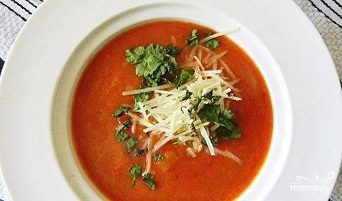 Куриный суп с гренками
