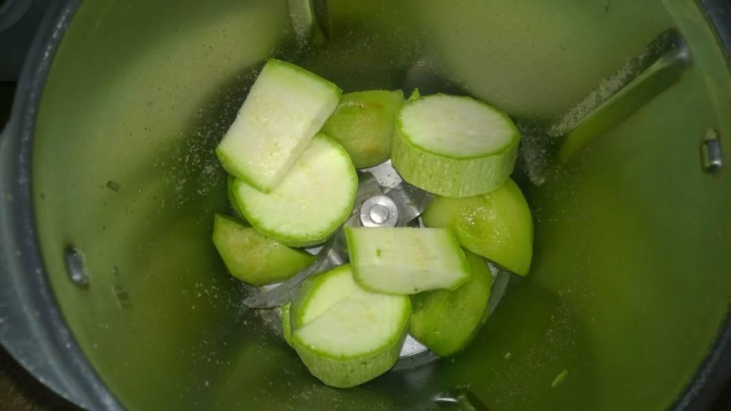 Зеленый коктейль с цукини - пошаговый рецепт