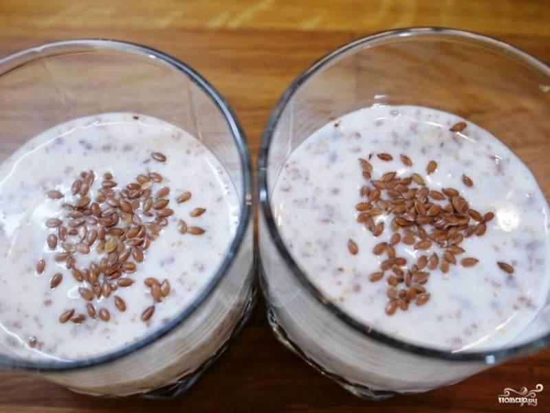 Льняное семя для похуденияы кефир