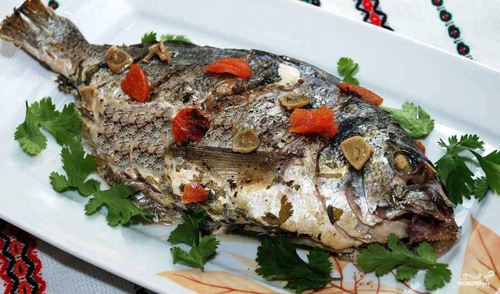 Рецепты запеченной рыбы целой