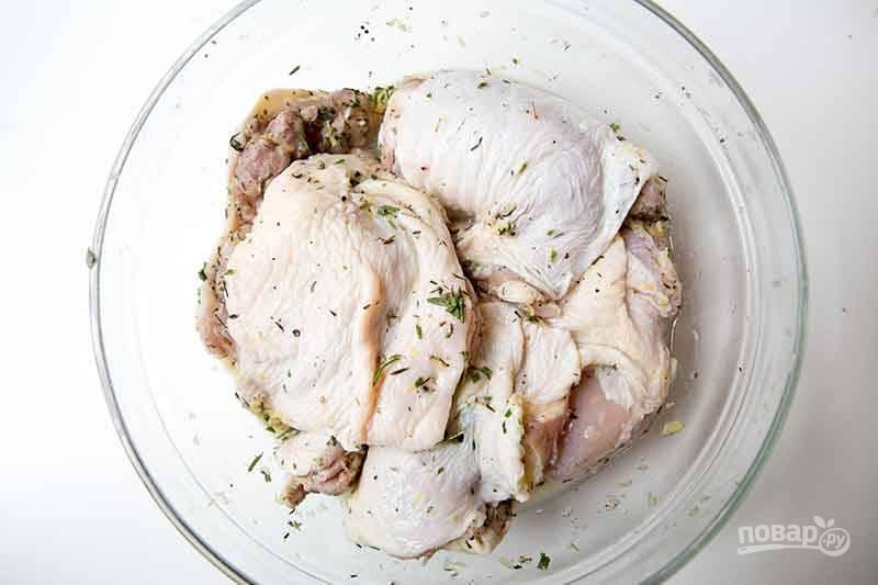 Курица с лимоном - пошаговый рецепт с фото на