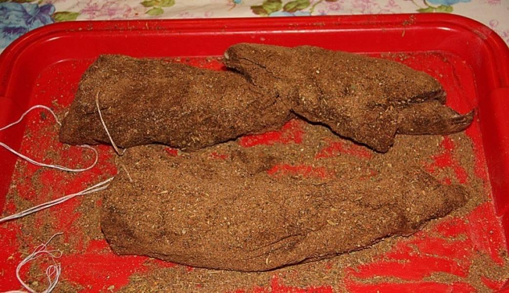 Бастурма из говядины - пошаговый рецепт